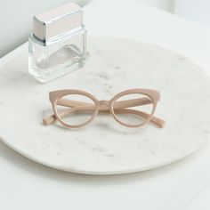 8d28c1aeabf Stop the haters in their tracks with our Manhattan Opticals Nude glasses.  Iamtrend s designer inspired eyewear will transform your look from casual  to ...