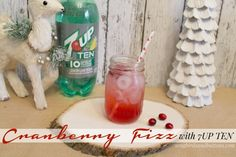 Easy & Festive Cranberry Fizz with 7UP TEN