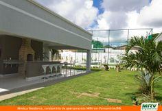 Área de Lazer do Nimbus Residence em Parnamirim/RN. Condomínio fechado da MRV Engenharia.