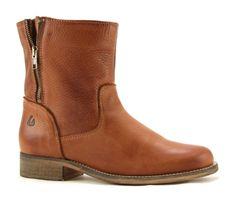 Online Shoes B03/5686 bruine enkellaarzen