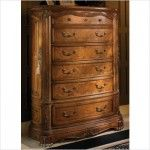 $2,038.00  AICO Furniture - Cortina Six Drawer Chest in Honey Walnut - 65070B/65070T