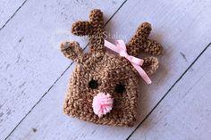Reindeer Hat via Etsy.