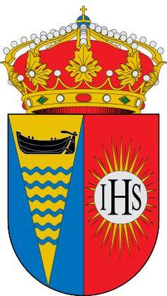 Representación heráldica del blasón aprobado
