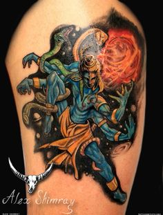 Hindu god Shiva spiritual tattoo