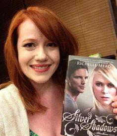 Richelle Mead Author Of Dark Swan Series Georgia Kincade And
