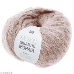 Laine Rico Design - Fashion gigantic mohair - Beige - 100 gr Bonnet Crochet, Crochet Granny, Rico Design, Beige, Fashion Design, Knits, Tips, Crochet Pattern