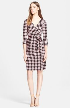 Diane von Furstenberg 'New Julian 2' Silk Jersey Wrap Dress available at #Nordstrom