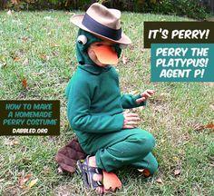 DIY Animal Costume : DIY The Perry The Platypus Costume  : DIY Halloween