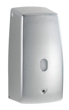 Der elektrische Seifenspender Treviso Platin matt funktioniert berührungslos und ist daher sehr hygienisch.  Durch den Infrarot-Sensor wird automatisch eine ausreichende Menge Seife ausgegeben, der Spender tropft nicht und ist einfach nachfüllbar. Gesehen für € 37,99 bei kloundco.de.