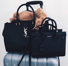 b34eab75b11d yves saint laurent Ysl Black Bag