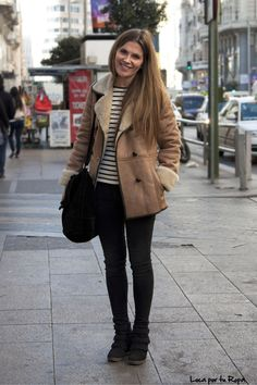Sheepskin coat by Pepe Jeans                              …