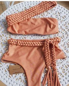 Bikini One-Piece and Swimwear - Estilo e qualidade vocês encontram aqui no Sua loja online de mod. Cute Swimsuits, Cute Bikinis, Swimwear Fashion, Bikini Fashion, Outfit Strand, Jolie Lingerie, Bikini Outfits, Cute Bathing Suits, Summer Suits