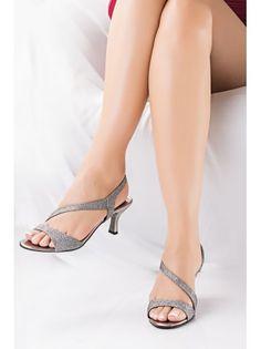 SOLES Grey Heels