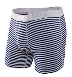 Vibe Boxer Modern Fit in Harbor Stripe by Saxx