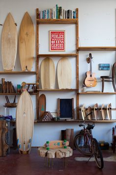 Woodshop in the Outer Sunset, San Francisco