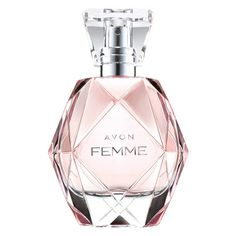 AVON FEMME Eau de Parfum Spray An elegant fragrance with sparkling freshness and opulent florals. Rich jasmine petals and stunning magnolia touched with radiant amberwoods. Luxuriously long-lasting, for hour after hour of beautiful scent. Deodorant, Avon Perfume, Avon Online, Avon Representative, New Fragrances, Parfum Spray, Body Spray, Body Lotion, Mother Day Gifts