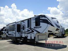 New 2017 Grand Design Momentum M-Class 350M Toy Hauler Fifth Wheel at General RV | Orange Park, FL | #140305