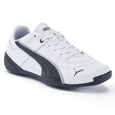 the best attitude 1b42c b85f9 PUMA Tune Cat B 2 Jr. Boys  Running Shoes, White