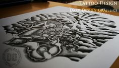 Working with clients to create a tattoo design. Tattoos | tattoos picture create a tattoo
