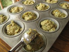 Sweet Peas and Pumpkins: Zucchini Muffins (Gluten-Free/Dairy-Free/Nut-Free)