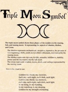 Can't wait to get my triple moon tattoo