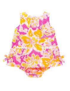 Lilly Pulitzer Baby Lilly Shift Dress -Kir Royal Pink Ooh La La