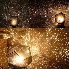 DIY Planetarium Star Celestial Projector Lamp Night Sky Light Romantic Gift US