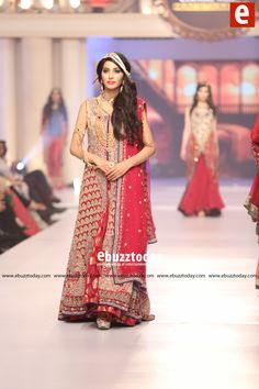 "SHAZIA KIYANI: "" ZARBANO"" Collection at Telenor Bridal Couture Week 2015 (#TBCW2015)"