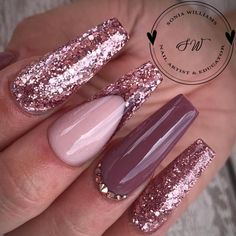 French nails tips pink sparkle 18 Ideas Pretty Nail Colors, Pretty Nail Designs, Acrylic Nail Designs, Pretty Nails, Nail Art Designs, Acrylic Nails, Design Art, Acrylics, Kylie Jenner