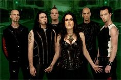 A dutch gothic band, that i listened to when i was 3 uhm yeah always a little fan of gothic music and style haha
