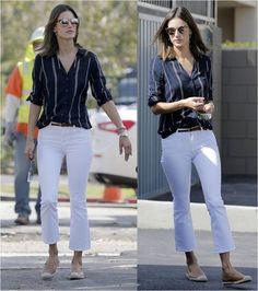 Alessandra Ambrosio wearing Sanctuary Clothing