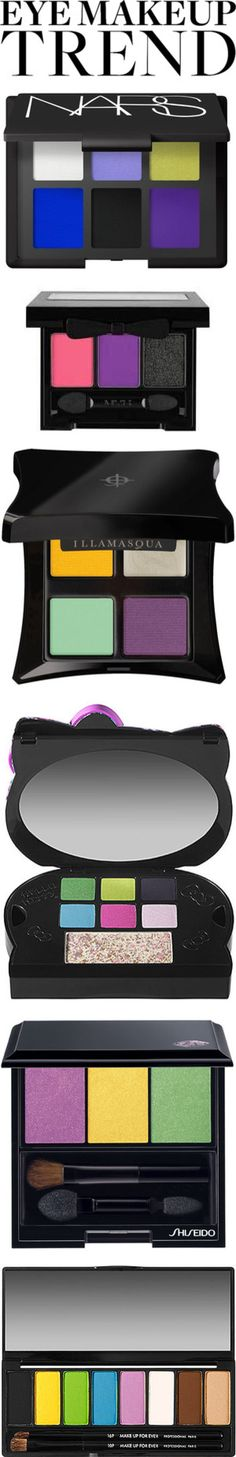 """""""Eye Makeup Trend: Technicolor"""" by nadia on Polyvore"""