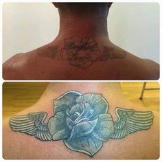 Beautiful cover up done in the studio by Ash.Call us on 01253 932549, message our page, visit our website www.revivaltattoos.com or come in to see us on Whitegate Drive opposite the Belle Vue Pub