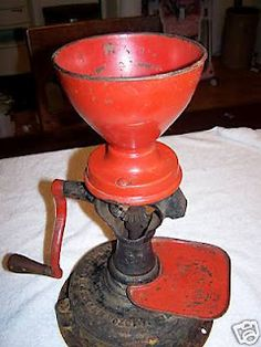 Antique Coffee Grinder- think my grandma still has one of these somewhere in her house. I never knew what the heck it was!