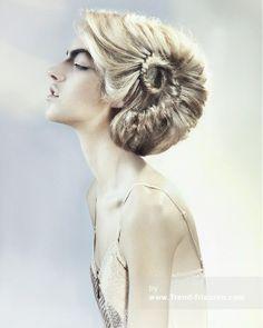 TREVOR Sorbie Blonde Lange weiblich Gerade Farbige Multi-tonalen Plastische Frauen Geflochtene Frisuren hairstyles