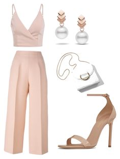 """""""Untitled #5"""" by mcaii on Polyvore featuring Fendi, Yves Saint Laurent and Escalier"""