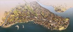 A view of Byzantine Constantinople in the 15th century - Imgur