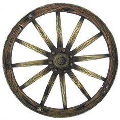 Brown Wagon Wheel