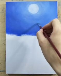 Great art by ID: 811369503 (Döuyin App) art videos dailyart painting color… Canvas Painting Tutorials, Painting Lessons, Art Lessons, Painting Videos, Painting Techniques, Art Drawings Sketches, Sketch Drawing, Drawing Eyes, Art Illustrations