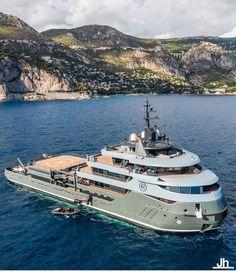 Bateau Yacht, Explorer Yacht, Luxury Jets, Yacht Design, Super Yachts, Fighter Aircraft, Mykonos, Transportation, Boat