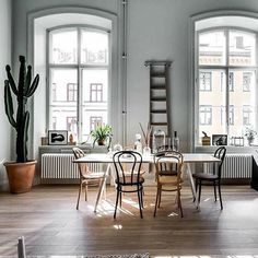 Some Nordic inspiration for the day. ?Scandinavian homes
