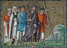 Giclee Print: The Road to Calvary, Scenes from the Life of Christ by Byzantine School : Ravenna Italy, Life Of Christ, Byzantine Art, The Son Of Man, Early Christian, Medieval Art, Sacred Art, The Life, Christ