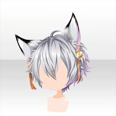 kari - angel cat - kill the queen Anime Boy Hair, Manga Hair, Character Inspiration, Hair Inspiration, Character Design, Pelo Anime, Chibi Hair, Hair Sketch, Estilo Anime