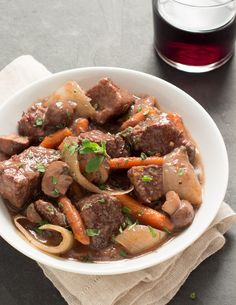 Wine-Simmered Beef S