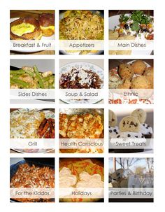 TONS of great gluten free recipes for all occasions! www.glutenfreefrenzy.com