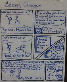 Shut the Door and Teach: Adding Dialogue to Personal Narratives