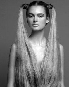 high pigtails; braid #hair #beauty #makeup | Tennis Court Shoot ...