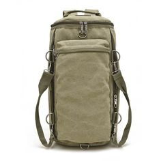 e580bc13c8c3 Men Women Canvas Multifunctional Big Travel Outdoor Portable Shoulders  Crossbody bag Backpack Vászon Hátizsák