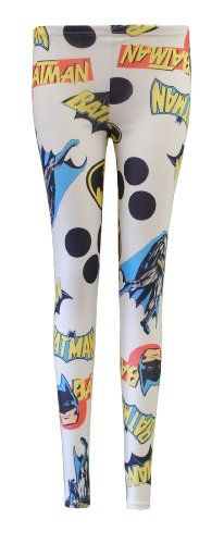 Crazy Girls Ladies Womens Batman Zebra Printed Leggings (M/L-US10/12, Batman White) Crazy Girls,http://www.amazon.com/dp/B00CKDAU9G/ref=cm_sw_r_pi_dp_v4zBsb0BPFENXA49
