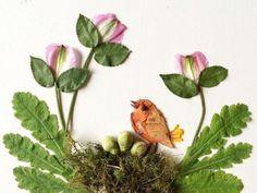 """Work by Bridget Beth Collins, """"Flora Forager"""""""